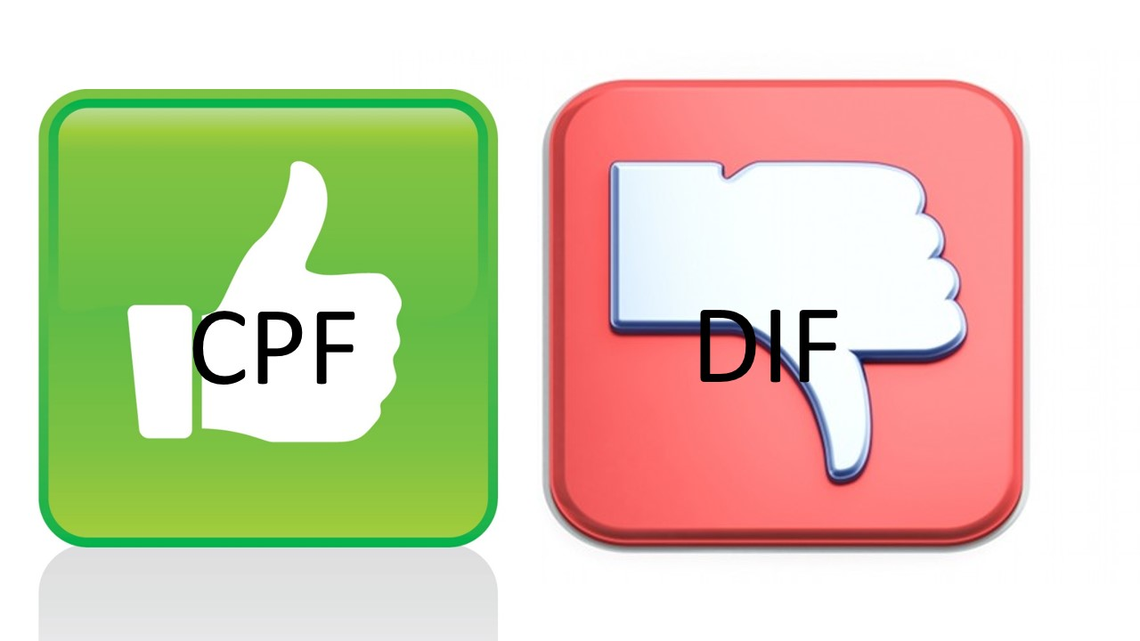 Dif Cpf Quelle Difference